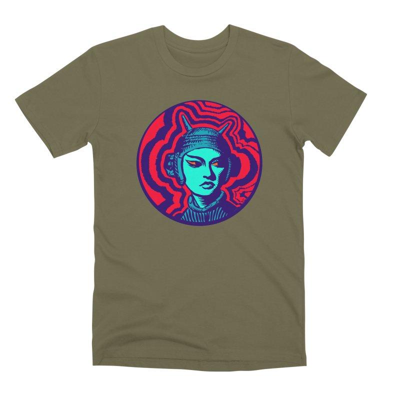 Kaiju Girl Men's Premium T-Shirt by RobBoyleArt's Artist Shop