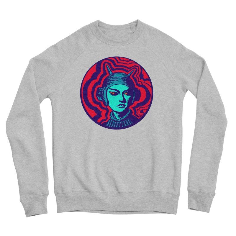 Kaiju Girl Women's Sponge Fleece Sweatshirt by RobBoyleArt's Artist Shop