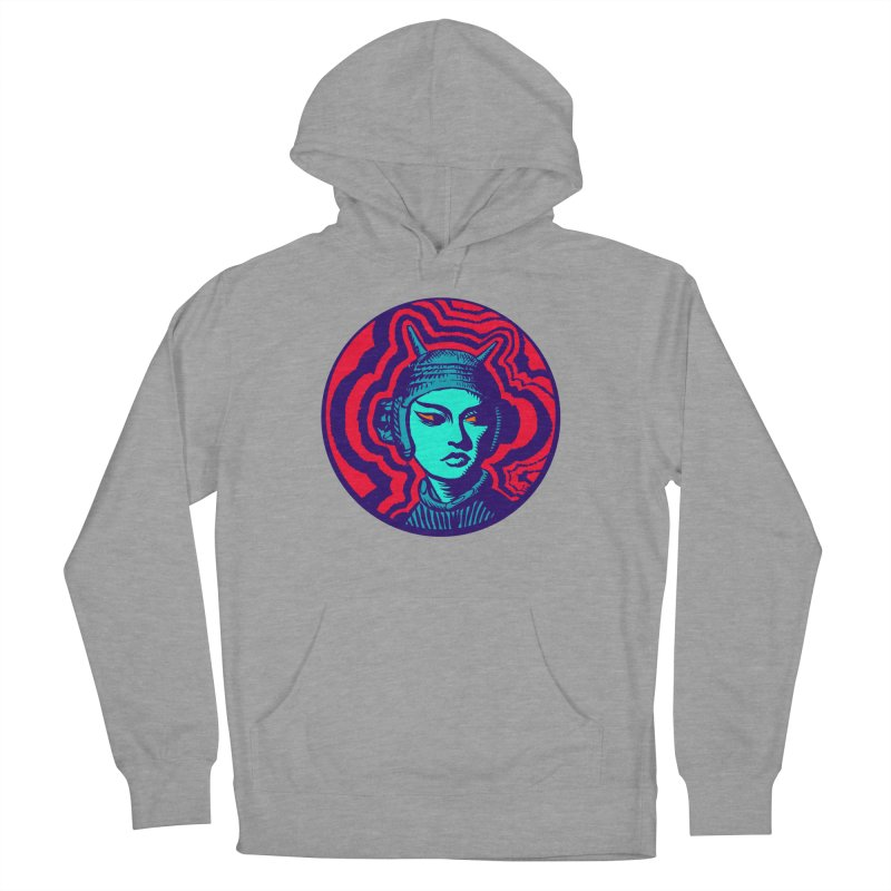 Kaiju Girl Women's French Terry Pullover Hoody by RobBoyleArt's Artist Shop