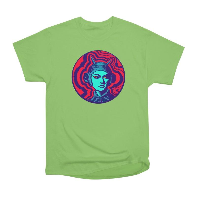 Kaiju Girl Women's Heavyweight Unisex T-Shirt by RobBoyleArt's Artist Shop