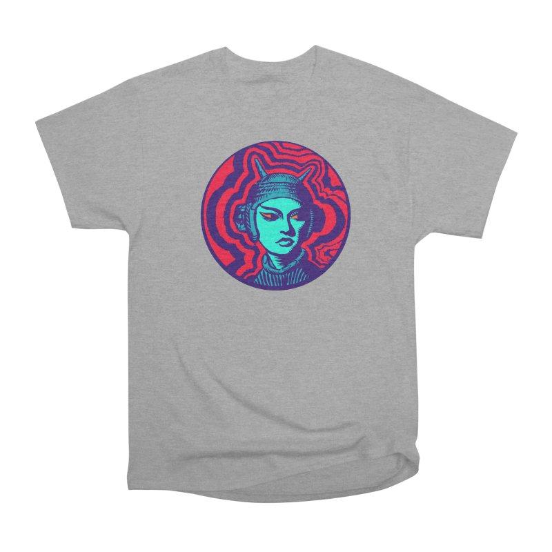 Kaiju Girl Men's Heavyweight T-Shirt by RobBoyleArt's Artist Shop