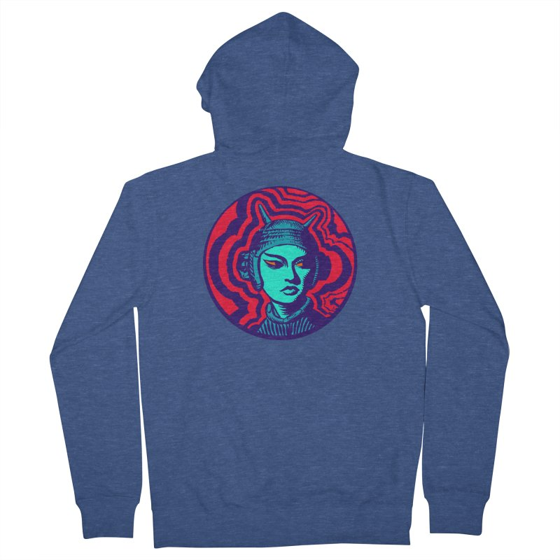 Kaiju Girl Women's Zip-Up Hoody by RobBoyleArt's Artist Shop