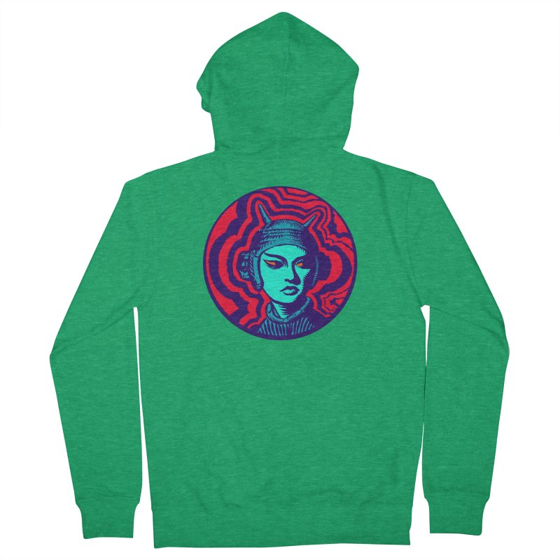 Kaiju Girl Men's Zip-Up Hoody by RobBoyleArt's Artist Shop