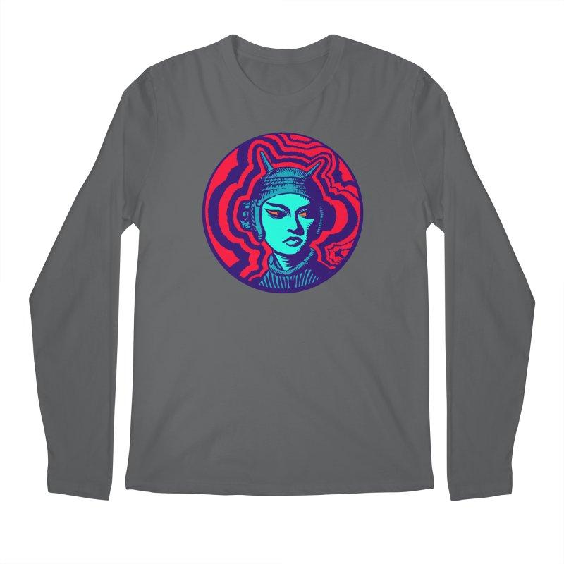 Kaiju Girl Men's Regular Longsleeve T-Shirt by RobBoyleArt's Artist Shop