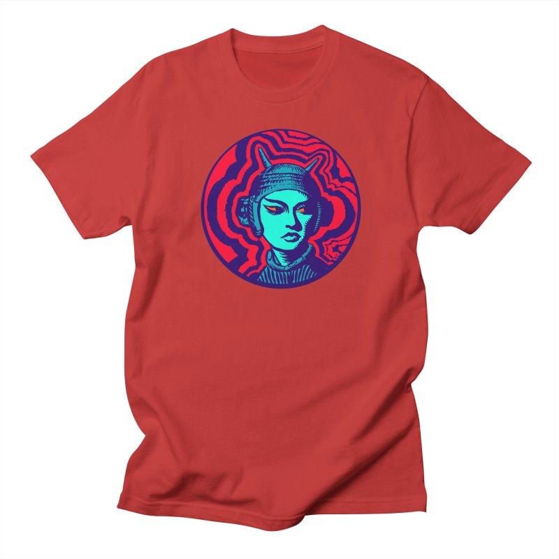 Kaiju Girl Men's Regular T-Shirt by RobBoyleArt's Artist Shop