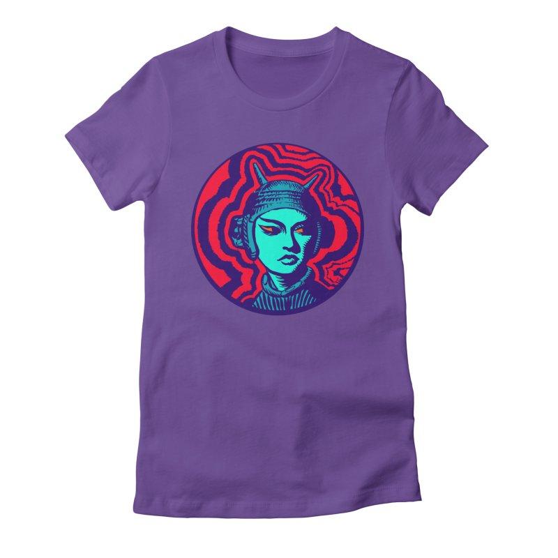 Kaiju Girl Women's T-Shirt by RobBoyleArt's Artist Shop