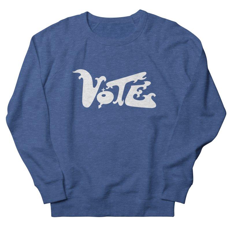 Vote (white letters) Men's Sweatshirt by RobBoyleArt's Artist Shop