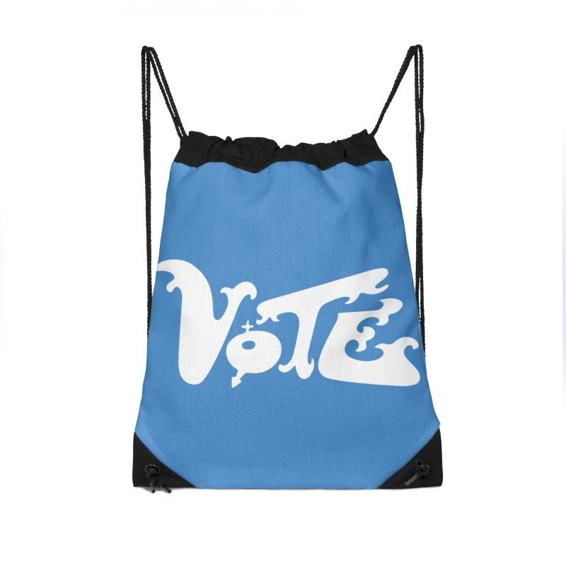 Vote (white letters) Accessories Bag by RobBoyleArt's Artist Shop