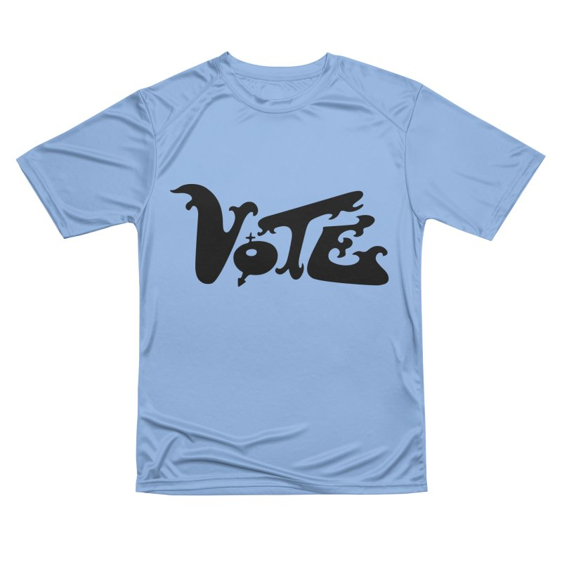 Vote Black Women's T-Shirt by RobBoyleArt's Artist Shop