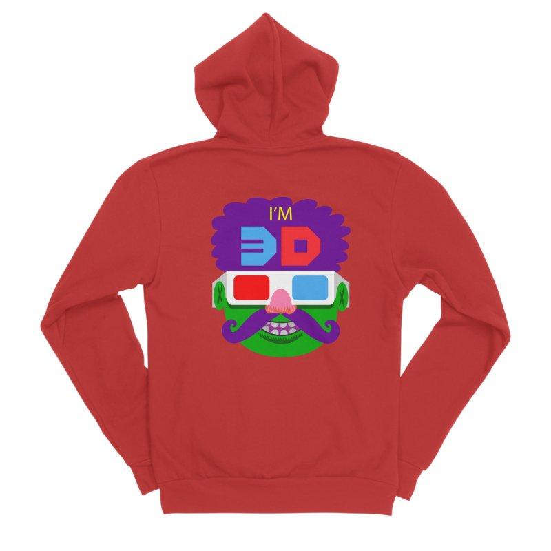 I'm 3D Men's Zip-Up Hoody by RobBoyleArt's Artist Shop