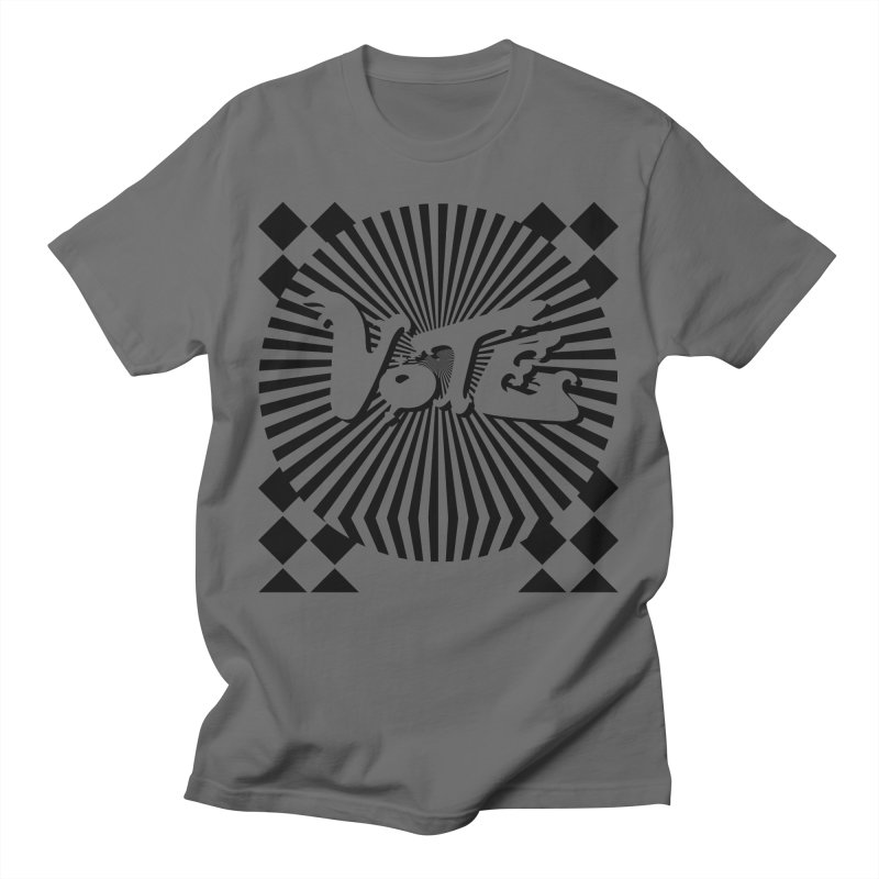 Vote black and white Men's T-Shirt by RobBoyleArt's Artist Shop