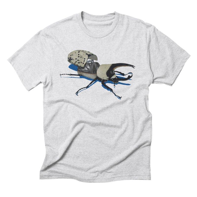 Bruce Men's Triblend T-Shirt by Bowenstuff: a collection of stuff by Robert Bowen