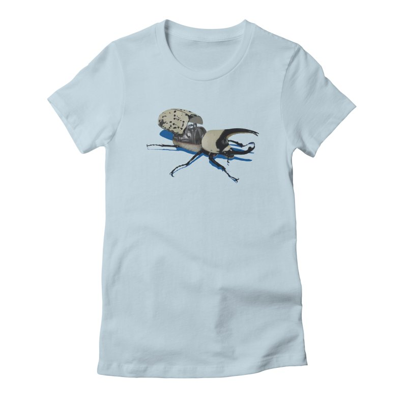 Bruce Women's Fitted T-Shirt by Bowenstuff: a collection of stuff by Robert Bowen