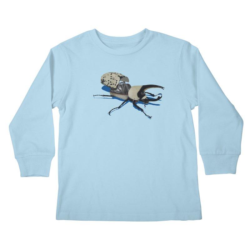 Bruce Kids Longsleeve T-Shirt by Bowenstuff: a collection of stuff by Robert Bowen