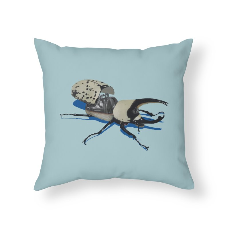 Bruce Home Throw Pillow by Bowenstuff: a collection of stuff by Robert Bowen