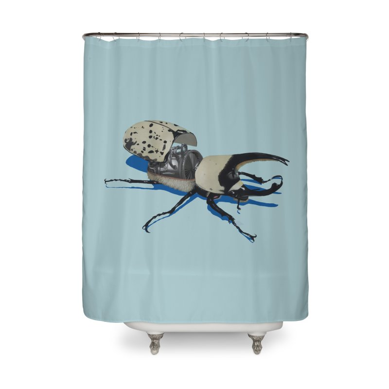 Bruce Home Shower Curtain by Bowenstuff: a collection of stuff by Robert Bowen