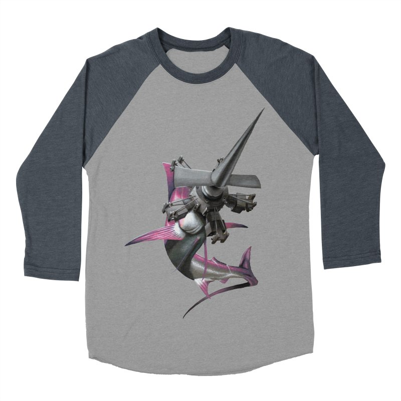 High & Dry Men's Baseball Triblend T-Shirt by Bowenstuff: a collection of stuff by Robert Bowen
