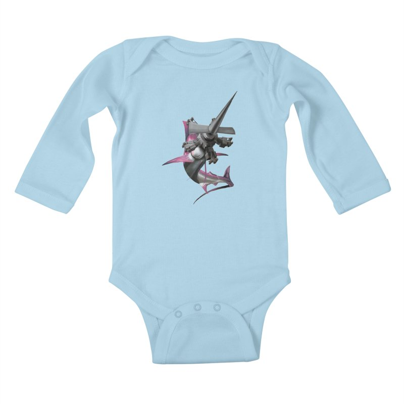 High & Dry Kids Baby Longsleeve Bodysuit by Bowenstuff: a collection of stuff by Robert Bowen