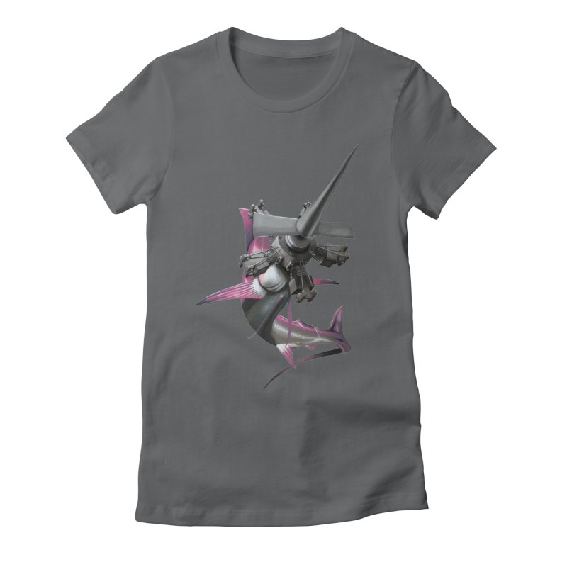 High & Dry Women's Fitted T-Shirt by Bowenstuff: a collection of stuff by Robert Bowen