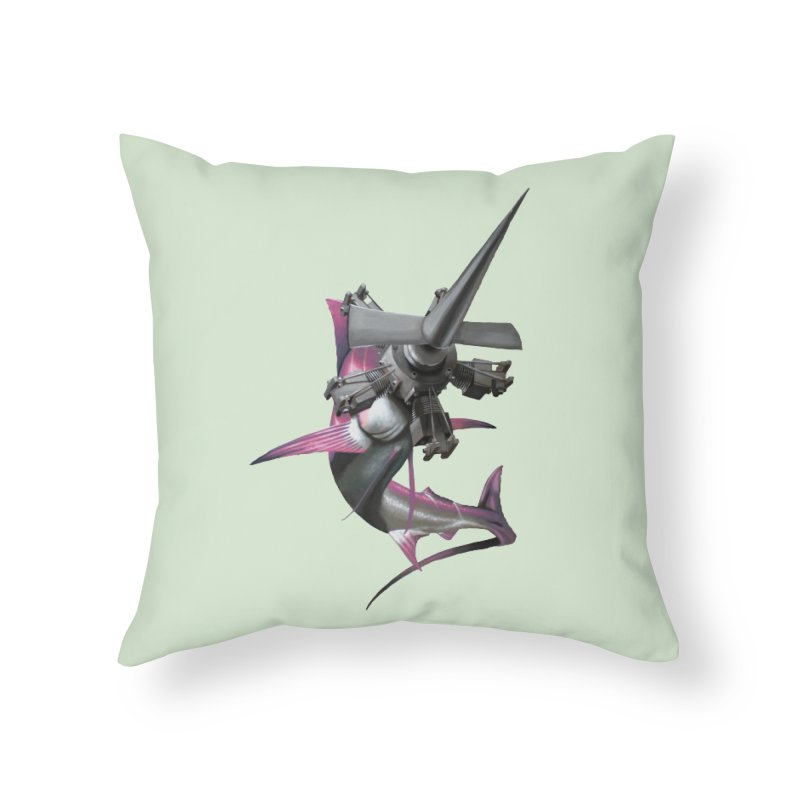 High & Dry Home Throw Pillow by Bowenstuff: a collection of stuff by Robert Bowen
