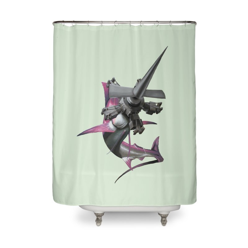High & Dry Home Shower Curtain by Bowenstuff: a collection of stuff by Robert Bowen