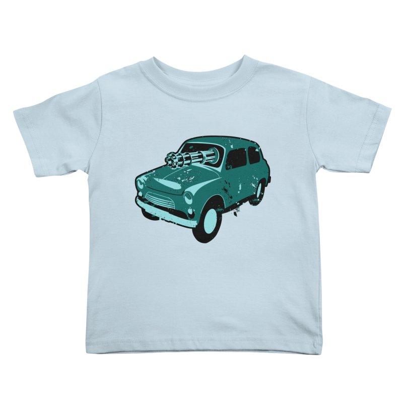 Driving Miss Crazy Kids Toddler T-Shirt by Robotchka Apparel