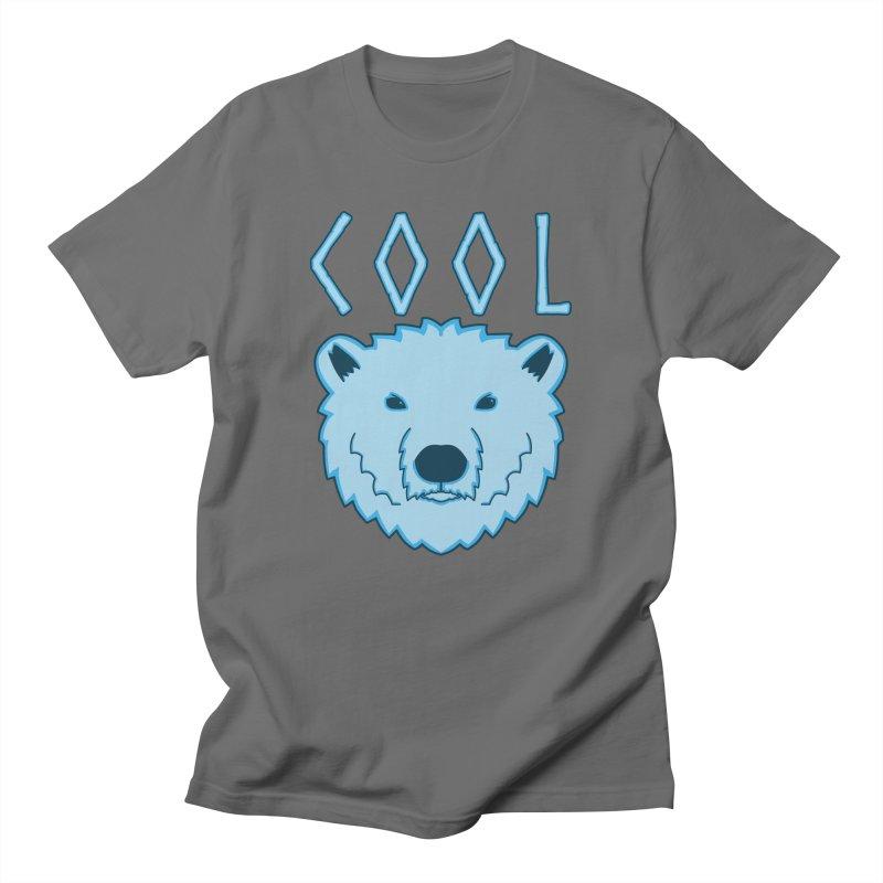 Cool Polar Bear Men's T-Shirt by Robotchka Apparel