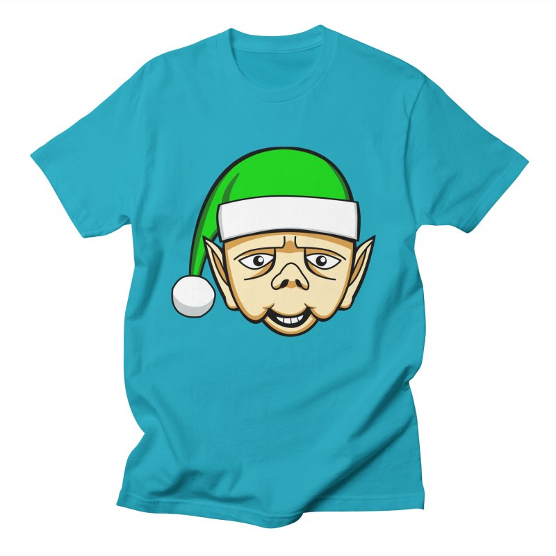 The Friendly Christmas Elf Men's T-Shirt by Robotchka Apparel