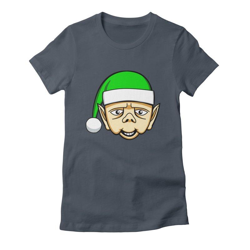 The Friendly Christmas Elf Women's T-Shirt by Robotchka Apparel