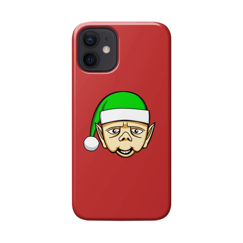 The Friendly Christmas Elf Accessories Phone Case by Robotchka Apparel