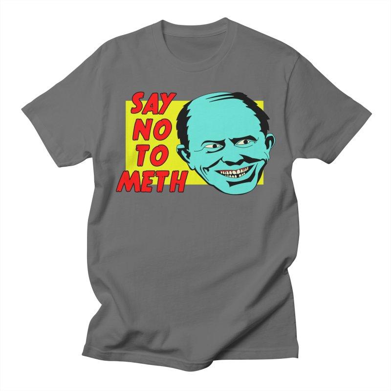 Say No To Meth Men's T-Shirt by Robotchka Apparel