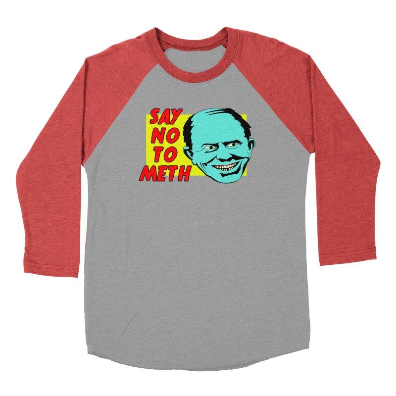 Say No To Meth Men's Longsleeve T-Shirt by Robotchka Apparel