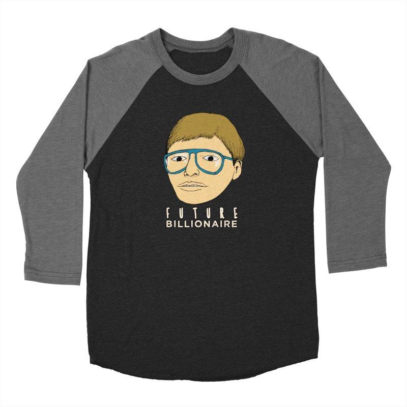 Nerd: Future Billionaire Men's Longsleeve T-Shirt by Robotchka Apparel