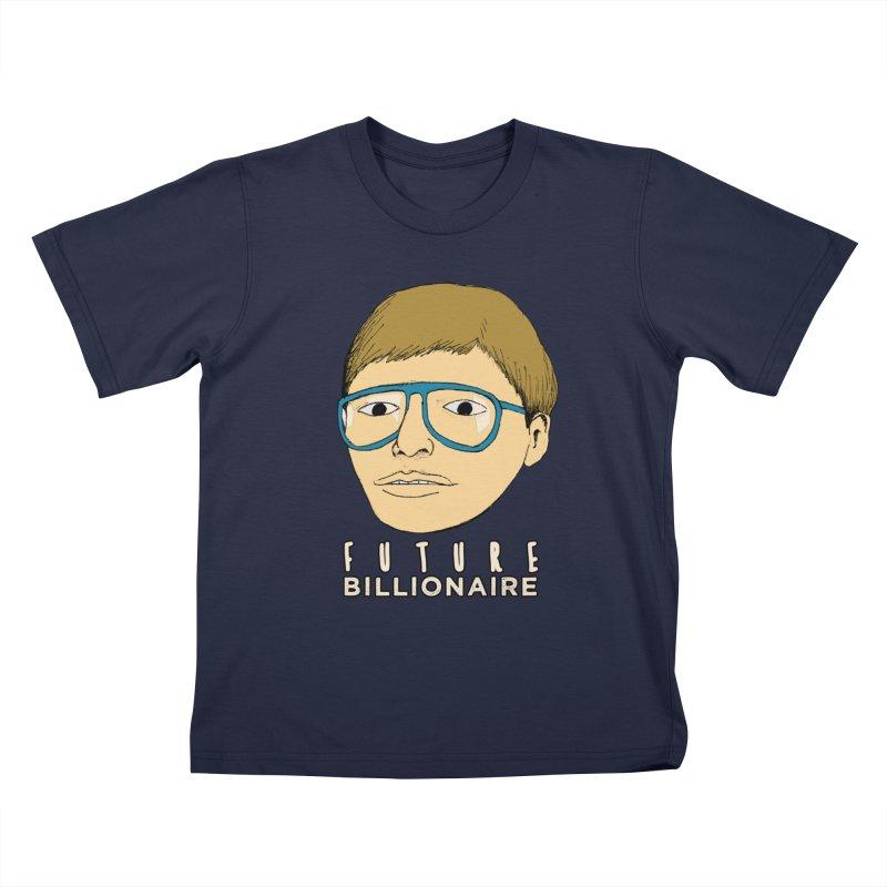 Nerd: Future Billionaire Kids T-Shirt by Robotchka Apparel