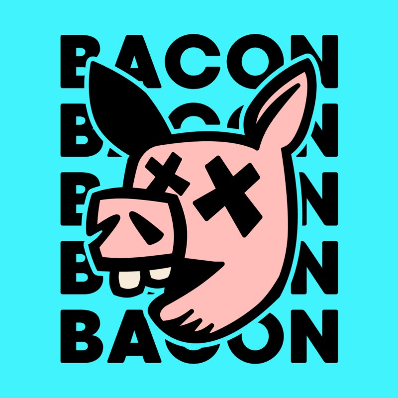 Bacon Men's Longsleeve T-Shirt by Robotchka Apparel