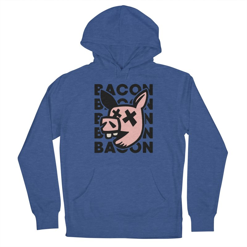 Bacon Men's Pullover Hoody by Robotchka Apparel