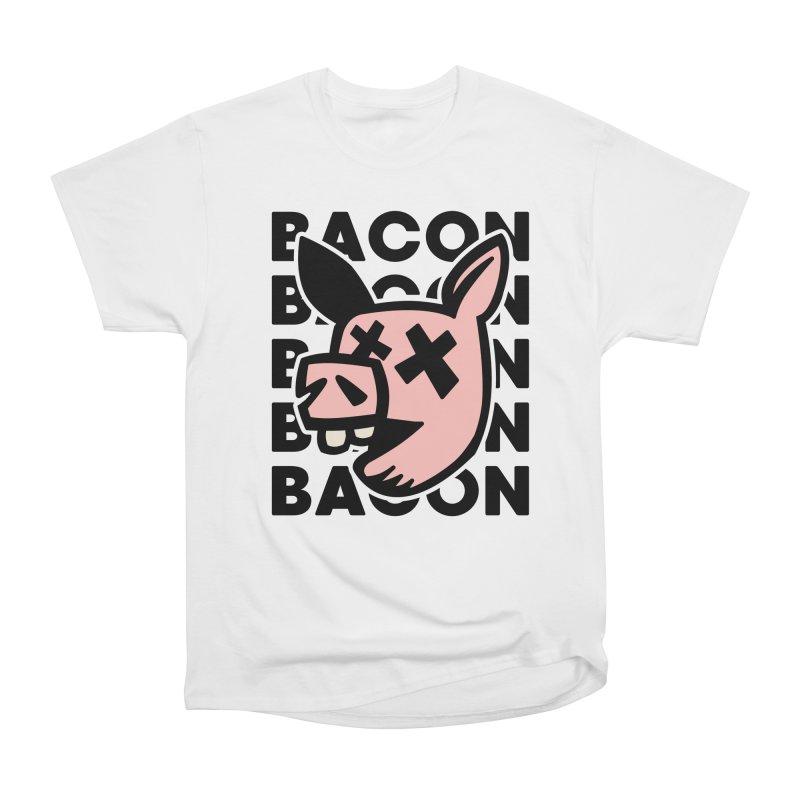 Bacon Men's T-Shirt by Robotchka Apparel