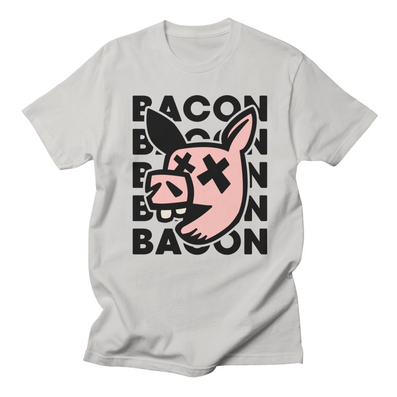 Bacon Men's T-Shirt by Robotchka Apparel