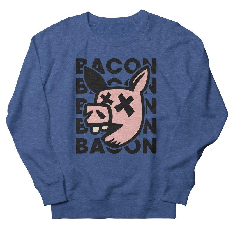 Bacon Men's Sweatshirt by Robotchka Apparel