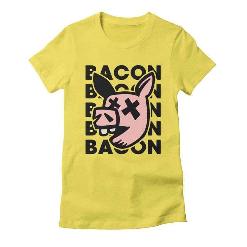 Bacon Women's T-Shirt by Robotchka Apparel