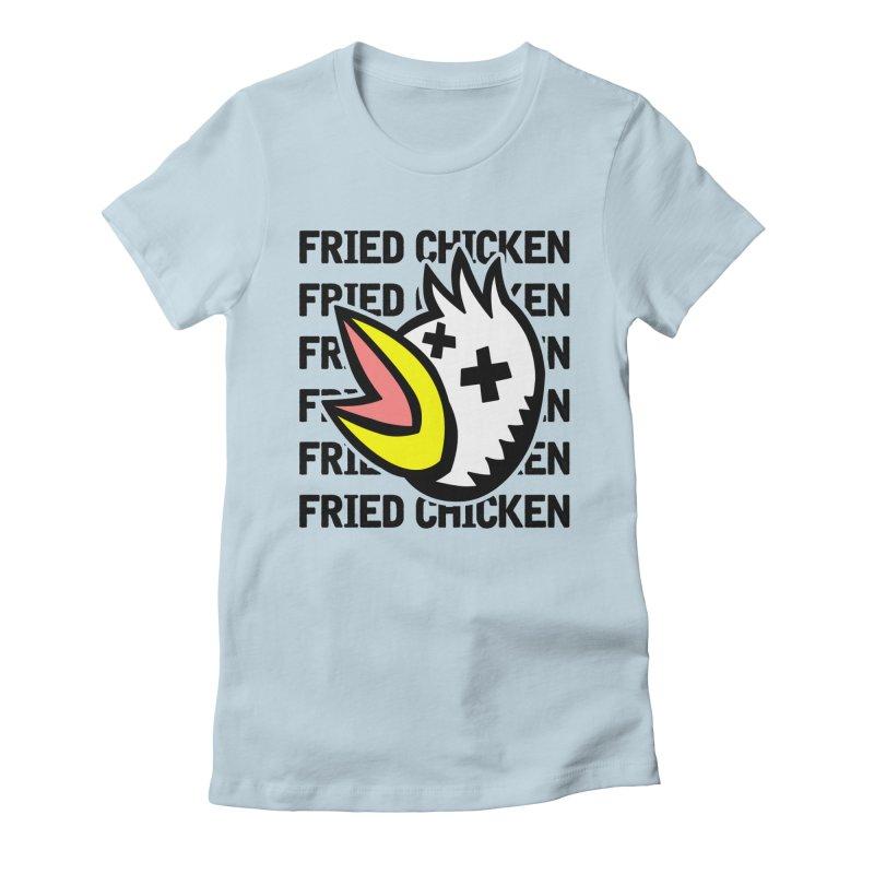 Fried Chicken Women's T-Shirt by Robotchka Apparel