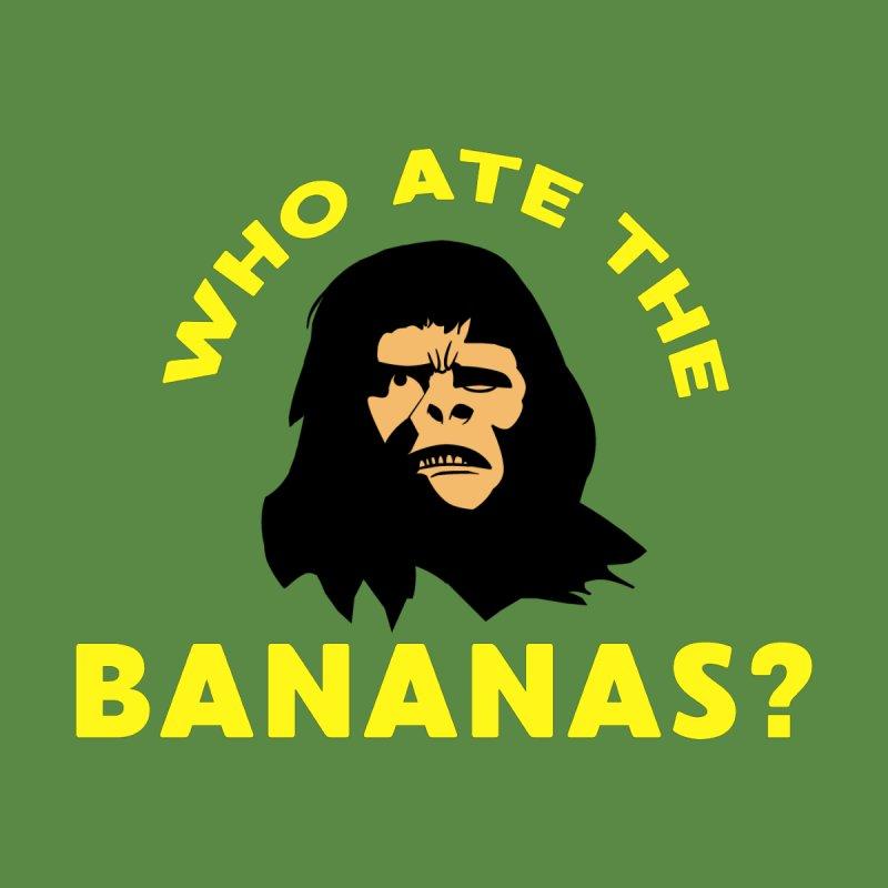 Who Ate The Bananas? Women's T-Shirt by Robotchka Apparel