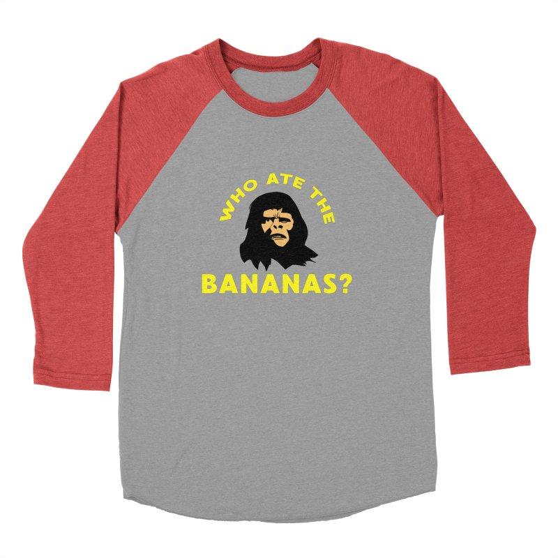 Who Ate The Bananas? Men's Longsleeve T-Shirt by Robotchka Apparel