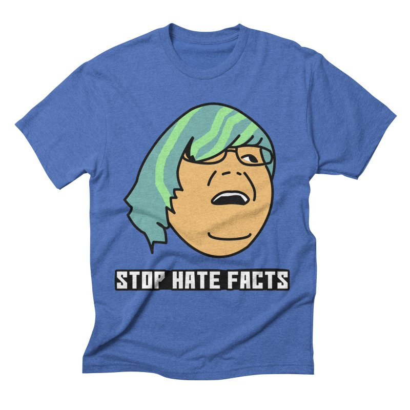Stop Hate Facts Men's T-Shirt by Robotchka Apparel