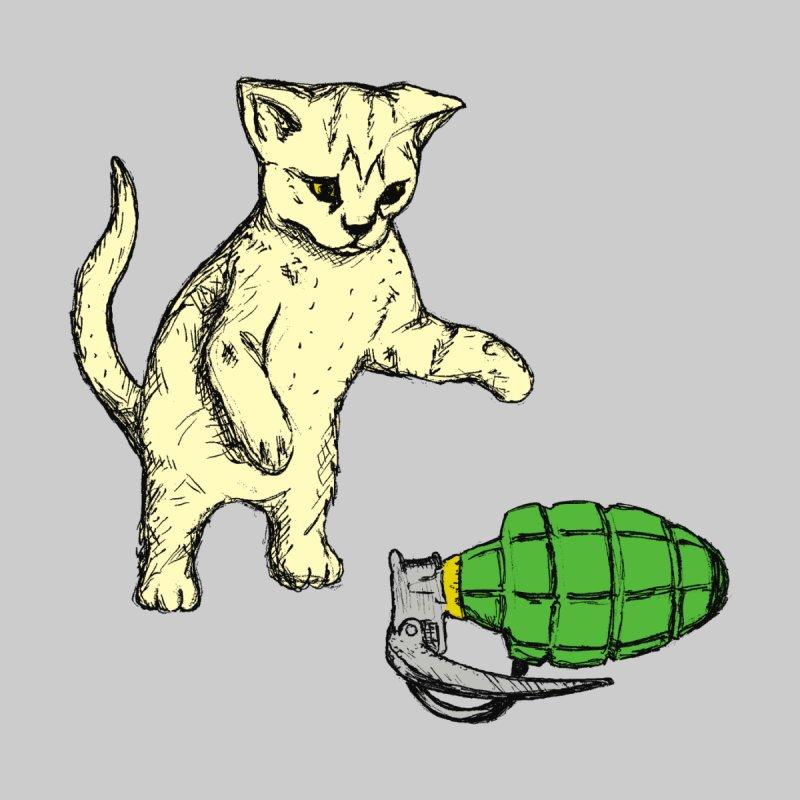 Curiosity Killed The Kitty Kids Toddler T-Shirt by Robotchka Apparel