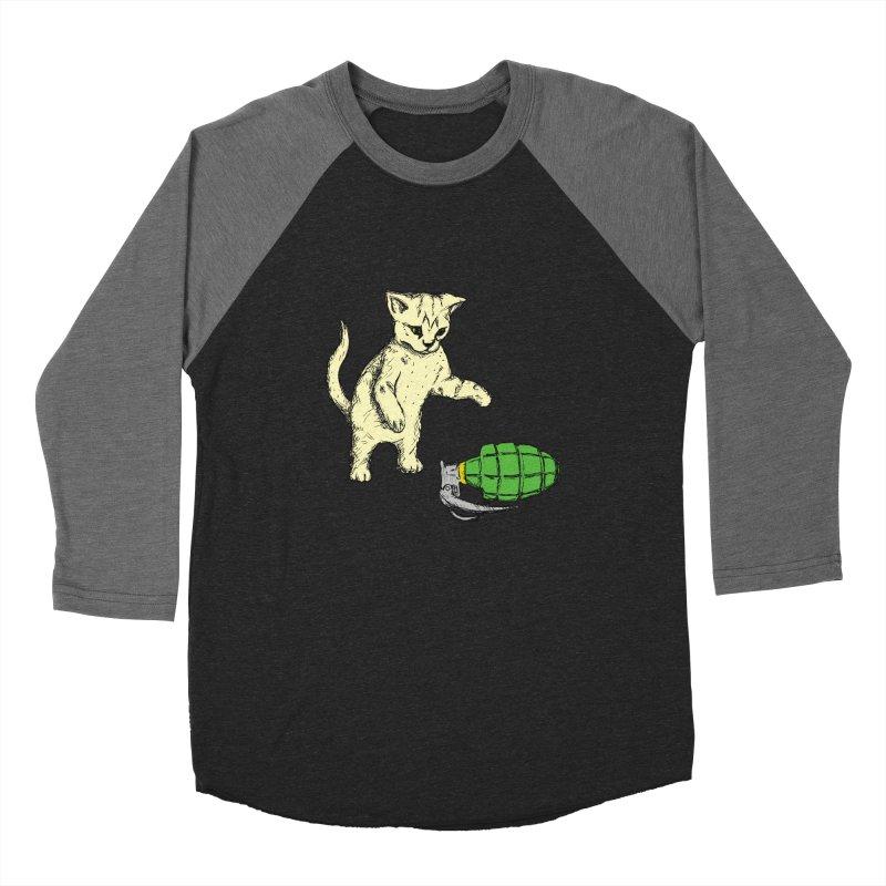 Curiosity Killed The Kitty Men's Longsleeve T-Shirt by Robotchka Apparel
