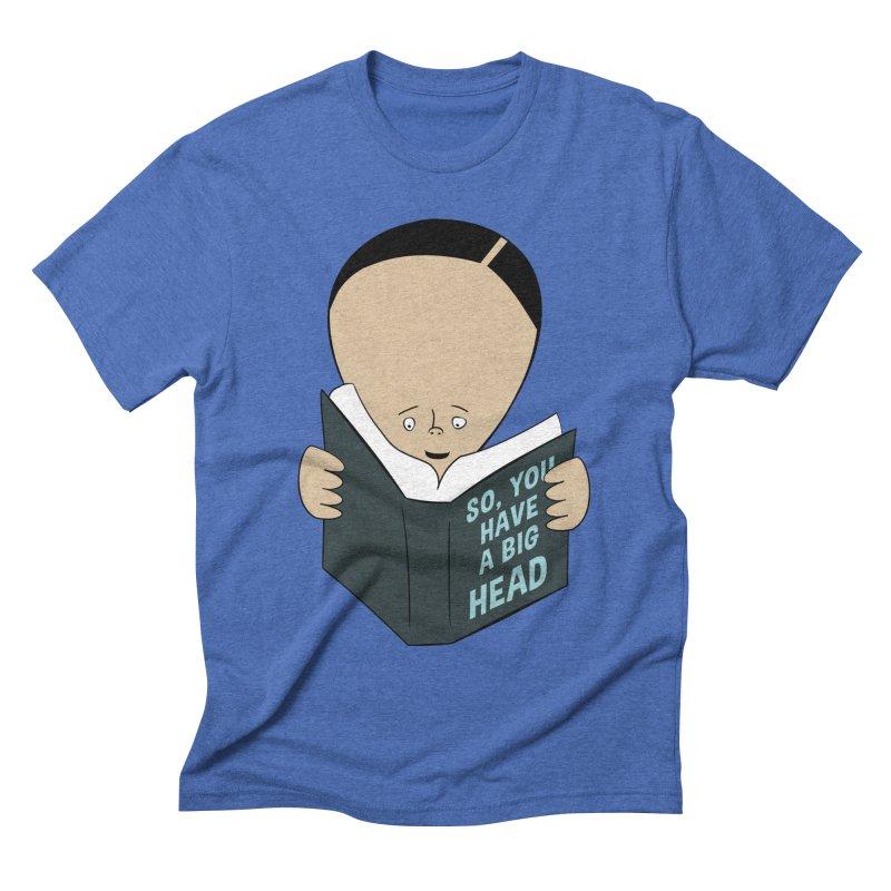 Big Head Men's T-Shirt by Robotchka Apparel