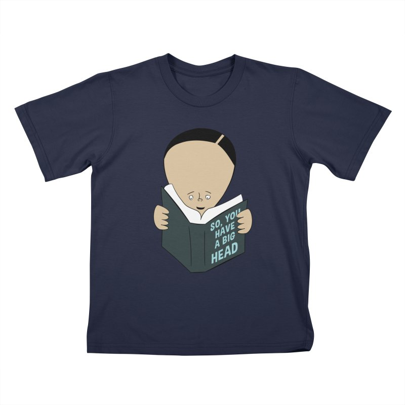 Big Head Kids T-Shirt by Robotchka Apparel
