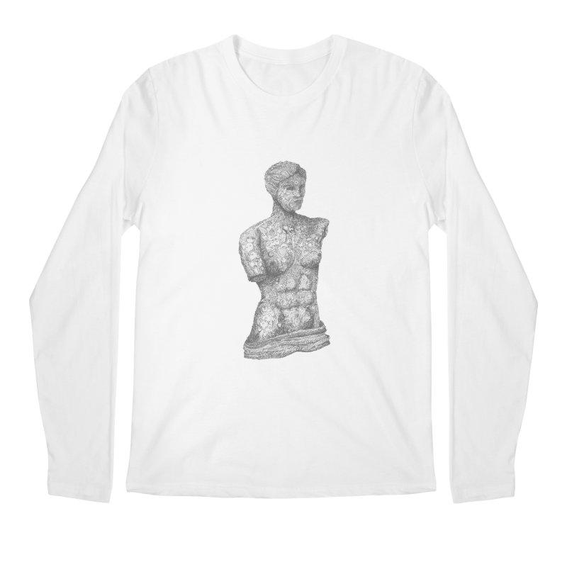 Amalgamation Men's Longsleeve T-Shirt by Robotjunkyard