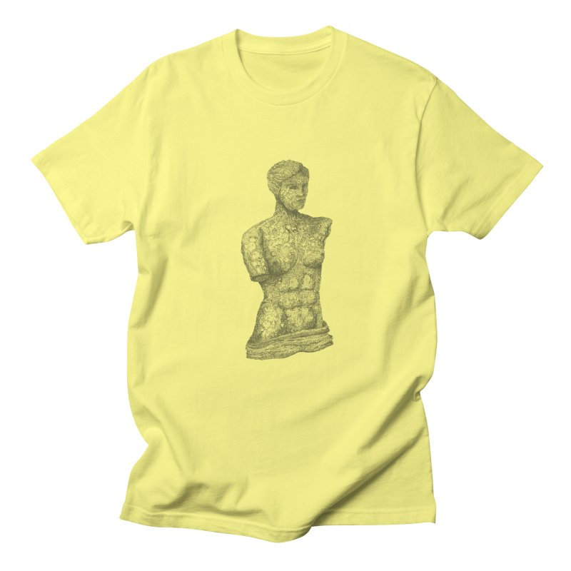 Amalgamation in Men's T-Shirt Lemon by Robotjunkyard